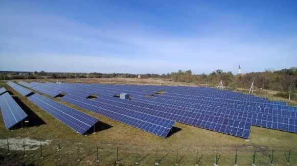 СЕС 2/2,158 МВт з підключеним «зеленим» тарифом